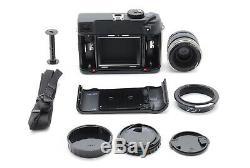 NEW ALL PERFECTMamiya 7 II Black Medium Format + N 80mm f/4 L Lens from Japan