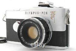N MINTOlympus Pen F Half Frame Film Camera with 38mm f/1.8 Lens From JAPAN