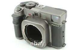 N MINT+3 with HOOD Mamiya 7 Medium Format Camera N 65mm f/4 L Lens From JAPAN