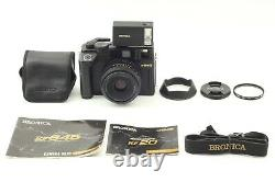 N MINT+++ Bronica RF645 + Zenzanon RF 65mm f/4 Lens, RF20 Flash from JAPAN