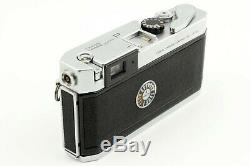 N. MINT Canon P Rangefinder 35mm Film Camera 50mm f1.8 L39 Lens From JAPAN 1295