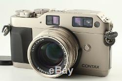 N. MINT+Contax G1 Rangefinder Camera, Carl Zeiss Planar 45mm Lens from JAPAN#D24