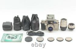 N MINT+++ Contax G2 Camera + 28 45 90mm 3Lens + TLA200 + Date Back From JAPAN