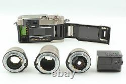 N MINT Contax G2 Rangefinder Film Camera 28mm 45mm 90mm Lens TLA200 From JAPAN