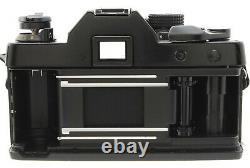 N MINT+++Contax RTS 35mm SLR Film Camera Black 85mm f/1.4 AEJ Lens From JAPAN