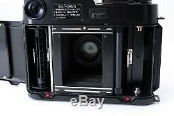 N MINT-Fuji Fujica GS645 Pro 6x4.5 Medium Format & 75mm f3.4 Lens from JAPAN