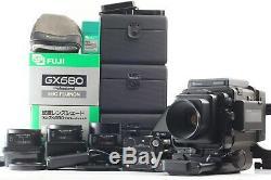 N MINT Fujifilm Fuji GX680 Pro with Fujinon 4lens 100 135 150 180 etc. #1578