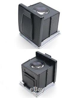 N. MINT Hasselblad 500 CM C/M Black body + C 80mm f/2.8 Lens A12 from JAPAN k