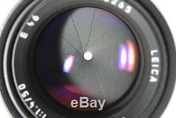 N MINT Leica Summilux M 50mm F/1.4 E46 Camera Lens Black From JAPAN