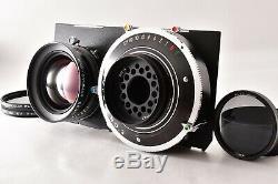 N MINT Linhof Master Technika RF 4x5 Large Format + 4Lens more From JAPAN 156Y