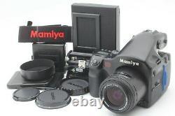 N MINT Mamiya 645 AF 645AF Medium Format Camera + 55mm f/2.8 Lens from JAPAN