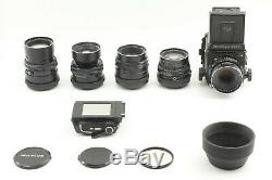 N MINT Mamiya RB67 Pro S Sekor C 127 65 150 180 250 5Lens 120 back from Japan