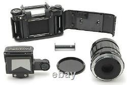 N MINT+++Pentax 6x7 67 TTL Mirror UP Film Camera 75mm f/4.5 Lens From JAPAN