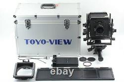 N MINT- with CASE Toyo View 45C + Nikkor W 210mm f/5.6 Lens Copal 1 from JAPAN