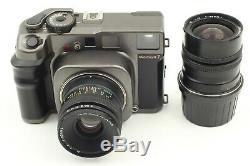 N. MintMamiya 7 Medium Format Camera with N 80mm f/4 L + N 65mm f/4 L Lens Japan