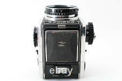 N-Mint Bronica S Silver + Nikkor P 75mm F/2.8 Lens, 6x6 Film Back Japan