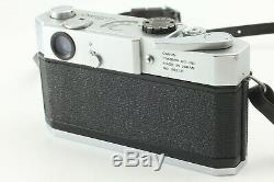 N Mint Canon 7 35mm Rangefinder Film Camera with 50mm f/1.4 Lens From JAPAN #026