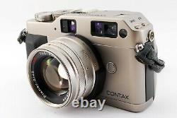 N-Mint Contax G1 35mm Rangefinder Camera + Plannar 45mm F/2 Lens from Japan