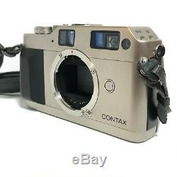 N-Mint Contax G1 Film Camera + 45mm F/2 Carl Zeiss Lens + TLA 140 from Japan