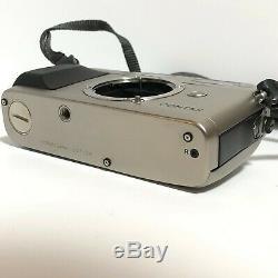 N-Mint Contax G1 Film Camera + 45mm F/2 Carl Zeiss Lens + TLA 140 from Japan