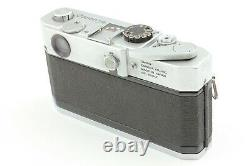 Near MINT++ CANON 7s RANGEFINDER 35mm Film Camera with50mm f1.4 Lens from JAPAN