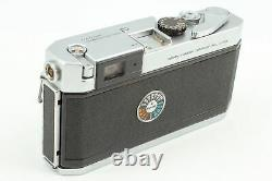 Near MINT Canon P Rangefinder + Withlens 50mm f1.8 serenar + hood From Japan