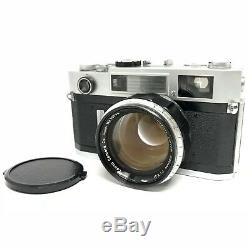 Near Mint Canon 7S 35mm Rangefinder Camera with 50mm F1.2 Lens From Japan 823