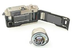 Near Mint Contax G1 RF Film Camera with Planar 45mm f/2 Lens From JAPAN #960