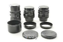 Near Mint Contax G2 Black, Top mint 28mm 45mm 90mm Lens TLA200 from Japan