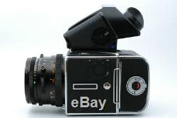 Near Mint Hasselblad 503CX + CF 80mm f/2.8 Lens + A12 Film Back + PME51 #19075
