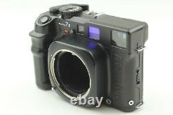 Near Mint Mamiya 7 II Black 6x7 Film Camera N 80mm f/4 L Lens from JAPAN