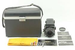 Near Mint Zenza Bronica ETR withZenzanon MC 75mm f/2.8 Lens AE From Japan