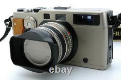 Near Mint count 072 Fujifilm TX-1 Rangefinder Film Camera 45mm f/4 Lens #19026