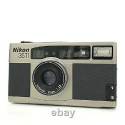 Nikon 35Ti Point & Shoot Film Camera 35mm F2.8 Lens Working TK