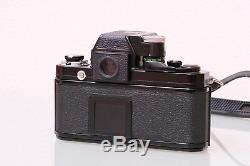 Nikon F2 Black Paint Photomic 35mm SLR Film Camera Body + 50mm F1.4 Lens