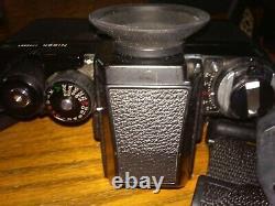 Nikon F3 HP Eyelevel 35mm SLR Film Camera Black body plus lens