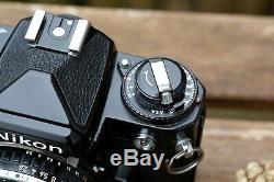 Nikon FE 35mm SLR Film Camera with Nikon 28mm f2.8 lens