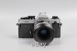 Nikon FM2N 35mm Camera with Nikkor 55mm F2.8 Lens And Case