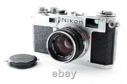 Nikon S2 Late Model Body + H. C. 50mm F/2 Lens from JAPAN Exc++