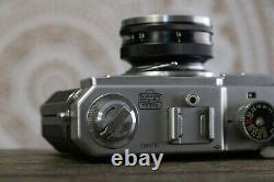 Nikon S3 35mm Rangefinder Film Camera, Nikkor-S 5cm f1.4 Lens, +2 lenses, RA152