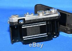 Nikon S3 35mm Rangefinder Film Camera with Black 50mm 1.4 lens Original Vintage