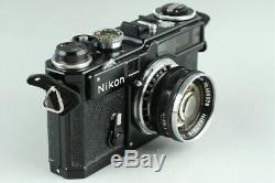 Nikon SP Black 35mm Rangefinder Film Camera + Nikkor-S 50mm F/1.4 Lens #23676 E4
