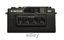 Nimslo 3D Quadra Lens 35mm Camera, Batteries & Box, Tested (Good)