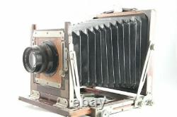 Okuhara 4x5 Large Format Camera with Fujinar 180mm F4.5, Cut Film Holder #1482