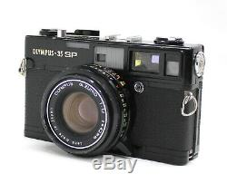 Olympus 35 SP 35mm Rangefinder Camera Black with G. Zuiko 42mm F1.7 Lens from Japan