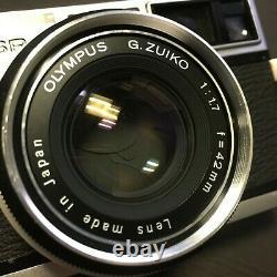 Olympus 35 SP 35mm Rangefinder Film Camera With G. Zuiko 42mm f1.7 Lens