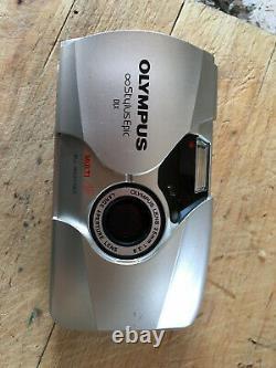 Olympus Mju II Stylus Epic DLX 35mm 2.8 35/2.8 prime lens camera