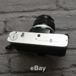 Olympus OM-10 35mm SLR Film Camera OM-System Zuiko Auto-S 50mm F/1.8 Lens Vtg