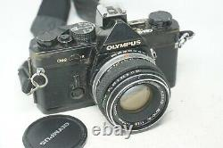 Olympus OM-2 OM2 Film SLR Camera & 50mm Olympus F/1.8 Lens