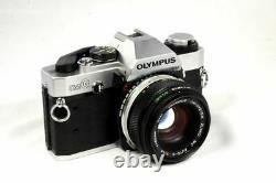 Olympus OM-G 35mm Film Camera And 50mm f/1.8 Lens Very Good